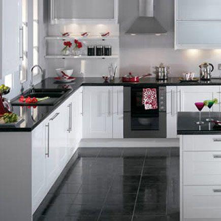 Kitchen-compare.com - Compare Retailers - White Gloss Shaker ...