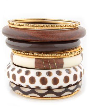 natural looking bangles