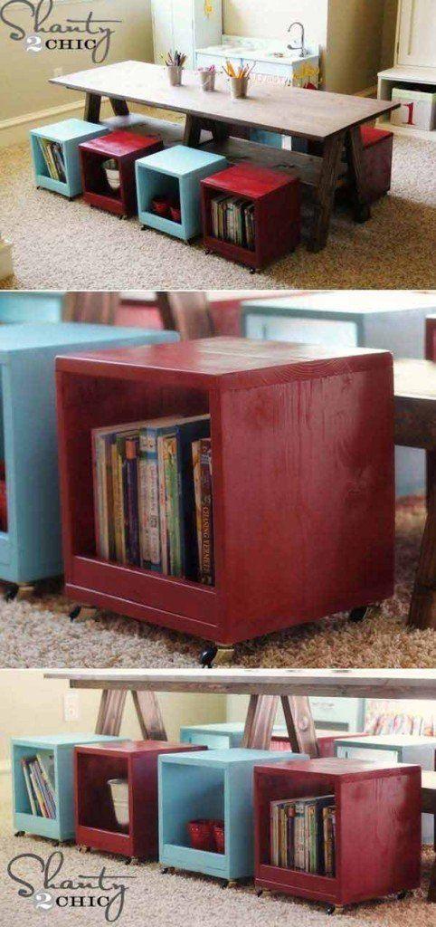 Das Zimmer deiner Kinder organisieren