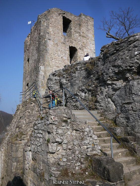 Burgruine Neideck, das Wahrzeichen der Fränkischen Schweiz