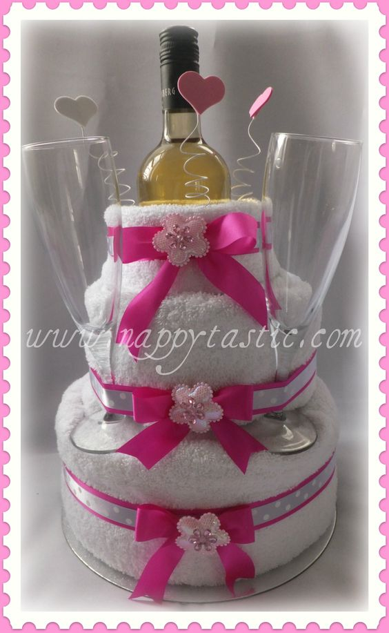 AMAZING TOWEL CAKES IMAGES | Unique and Amazing Mother's Day Gifts | Nappytastic