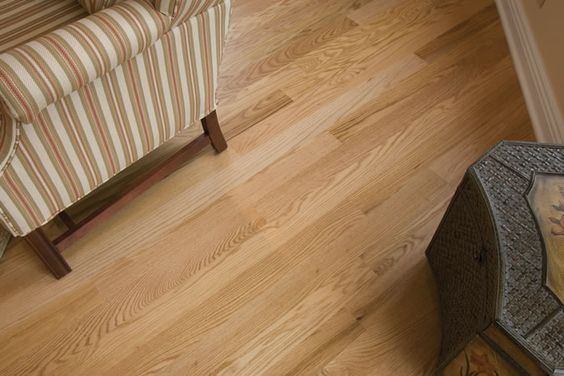 Grain And Color Variations Abound In This Natural Red Oak