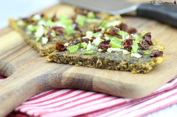 The Rawtarian: Raw pizza crust recipe