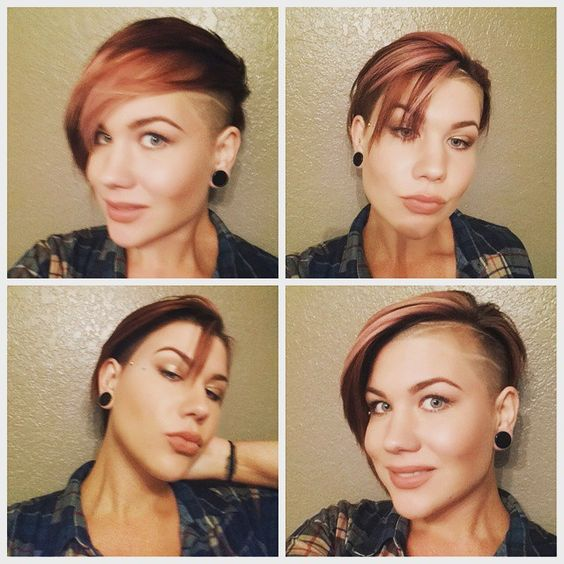 @ivis1980 thx for my boss cut!!! #MrsMonkey #chop #hair #cut #shorthairdontcare