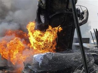 7 Bombs Kill 21 in #Baghdad