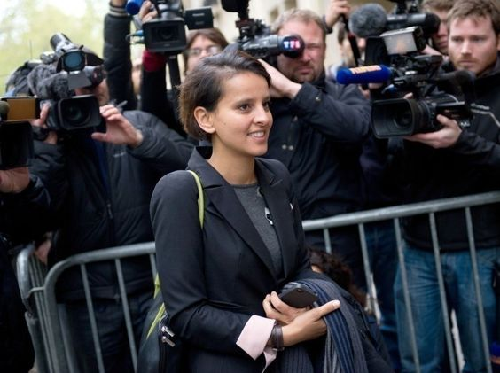 Najat Vallaud-Belkacem, porte-parole de François Hollande.
