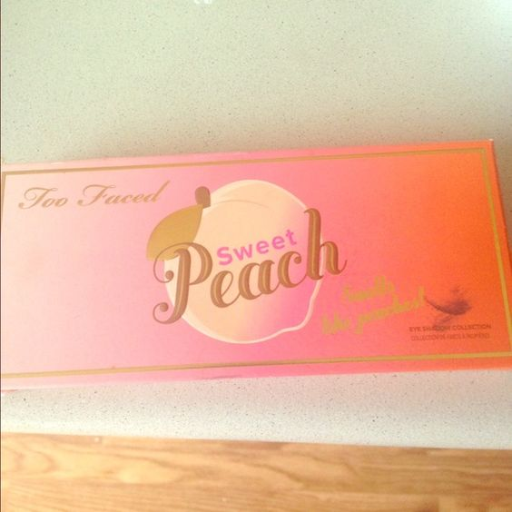 Sweet Peach Palette Just swatched two colors. Otherwise the other colors are untouched. I also have the box. PLEASE BUY THIS ON MERCRI. FREE SHIPPING ON THERE. user name is beautywithfarheen Too Faced Makeup Eyeshadow