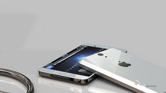 El iPhone 5 ¿ así sera su versión a la venta?