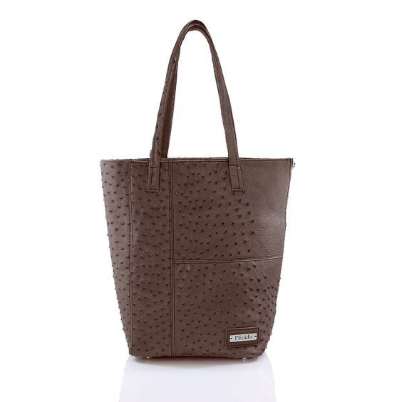 Genuine Ostrich D'ELUX SHOPPER by PEcado Handbags - #fashion #style #accessories #designer #fashionblog #fashiondiaries #igfashion #instyle #PEcado #materials #luxe #luxury
