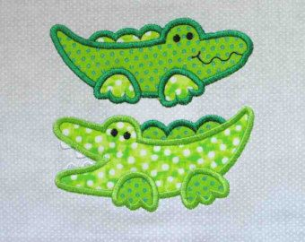 Alligator Quilt Pattern Noah S Ark Alligators Applique
