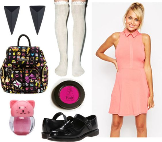 anime outfit inspiration | Outfit inspired by Miwako from Paradise Kiss anime