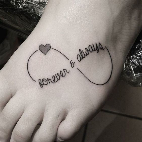 Forever And Always Tattoos Pinterest • The worl...