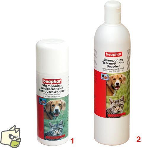 SHAMPOOING anti parasitaire BEAPHAR pour chien et chat