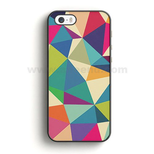 Colorful Squiggles iPhone SE Case | Aneend.com