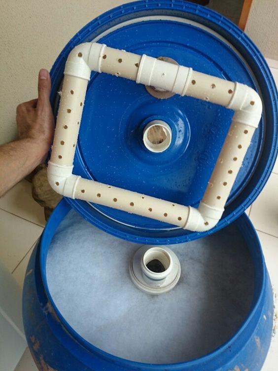 Filtro de res duos e germicida uv para lagos lagos for Filtros para lagos artificiales