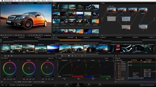 Dji Video Editor Davinci Resolve Blackmagic Design Crash Course Video Editing Apps