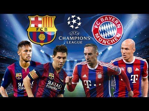 Fifa 18 Barcelona Vs Bayern Munich Uefa Cl El Liberatador Messi Vs Ribery Ps4 By Hd Gaming Bayern Munich Bayern Messi Vs