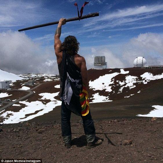 Native Hawaiians Protest Against Construction Of Gigantic Telescope