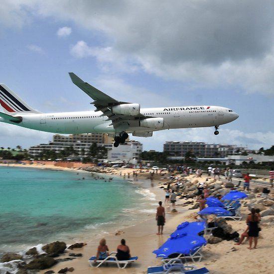 Maho Beach St Maarten Airport Maho Beach St Maarten Beach Sint Maarten