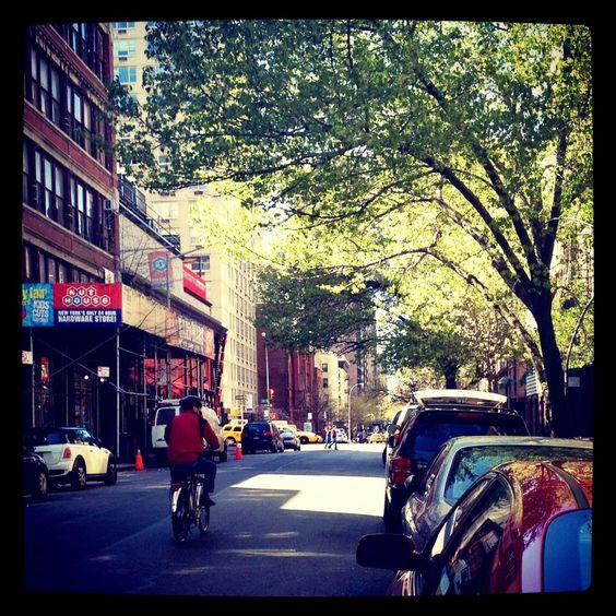 Manhattan Biker