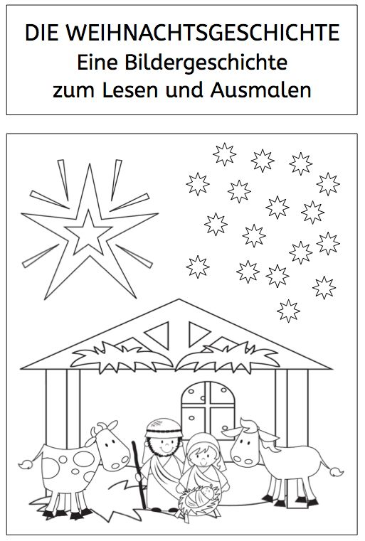 Arbeitsblatt Vorschule nikolausgedicht grundschule photo : Weihnachtsgeschichte, Weihnachten, Lesen, Schule ...