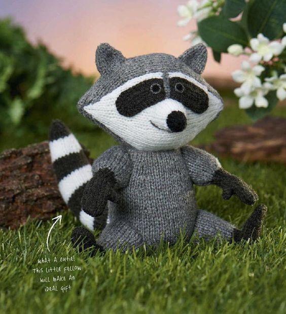 Amigurumi Raccoon Pattern Free : Pinterest The world s catalog of ideas