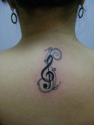 Clave De Sol Tattoo
