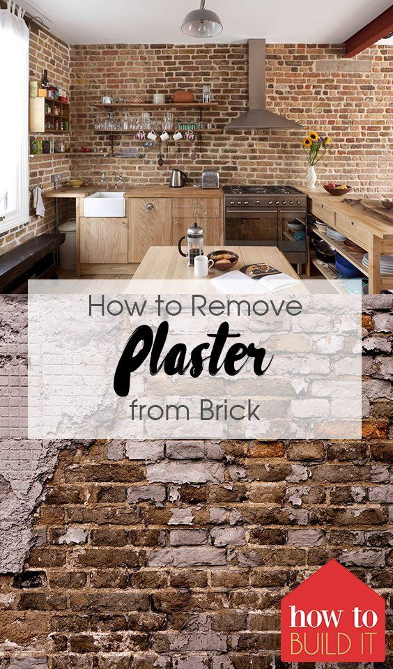 How To Remove Plaster From Brick Cleaning Painted Walls Cleaning Hacks House Cleaning Tips