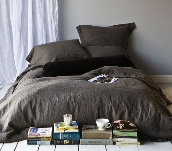 bella notte linens - grownup but still chic and versatile!