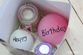 Birthday in a Jar and a box!