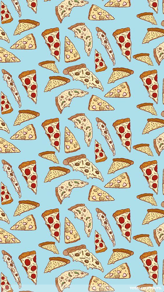 Food Pattern Wallpaper Tumblr pizza tumblr background