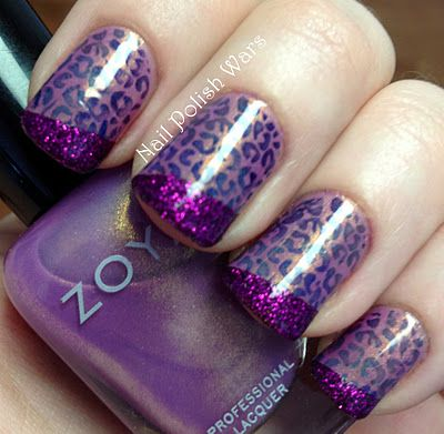 Technicolor Leopard.. so cool