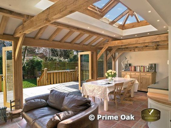 Prime oak buildings ltd quality oak framed orangeries for Oak framed garden room