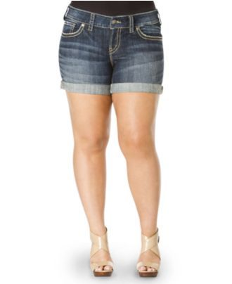 Silver jeans Plus size shorts and Plus size on Pinterest