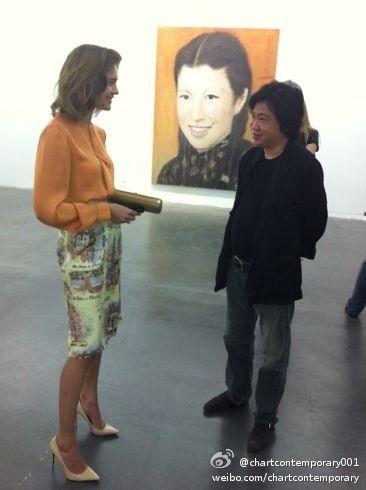 ChARTing Natalia Vodianova with Zhou Tie Hai in Shanghai ...