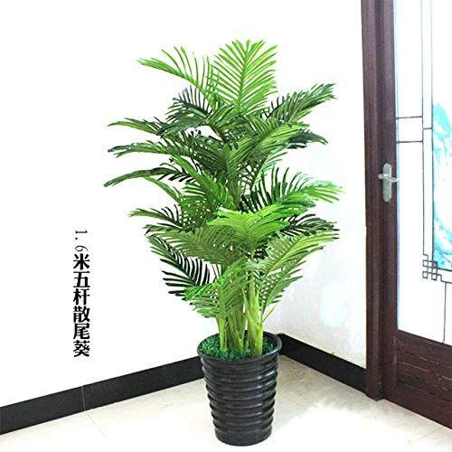 Getso Plantes Artificielles Grande Verdure 150cm Bonsai Arbre Pteris Plantes Faux Fleurs En Plastique En 2020 Fleur En Plastique Plantes Artificielles Arbre Artificiel
