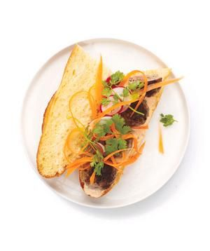 Meatball Banh Mi recipe
