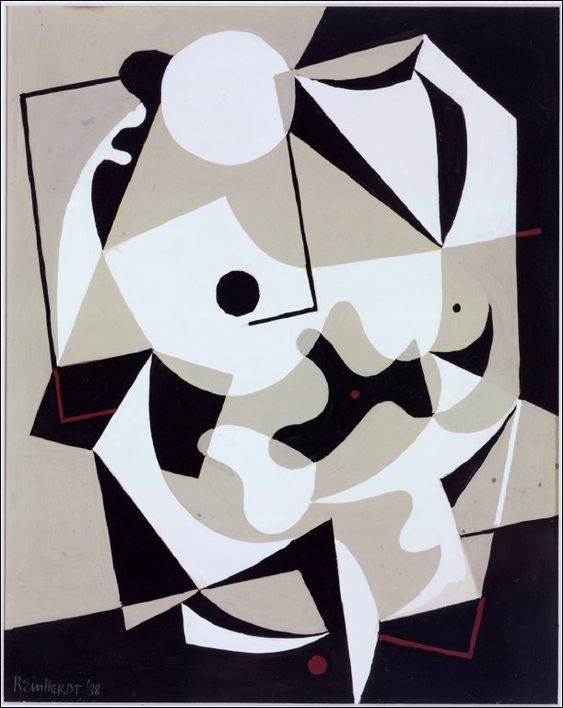 Ad Reinhardt. Untitled, 1938.