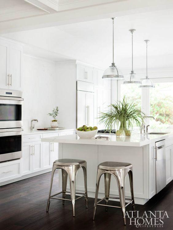 Best Dark Wood Floors Dark Wood And White Cabinets On Pinterest 400 x 300