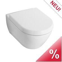 Villeroy & Boch Subway 2.0 Tiefspülwand-WC L: 56,5 B: 37,5 cm weiß mit ceramicplus - 560010R1