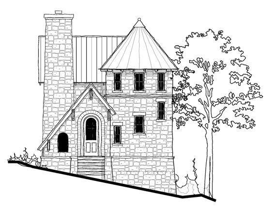 Tiny Castle 698 Sq Ft Castle House Plans Small Castles Castle House