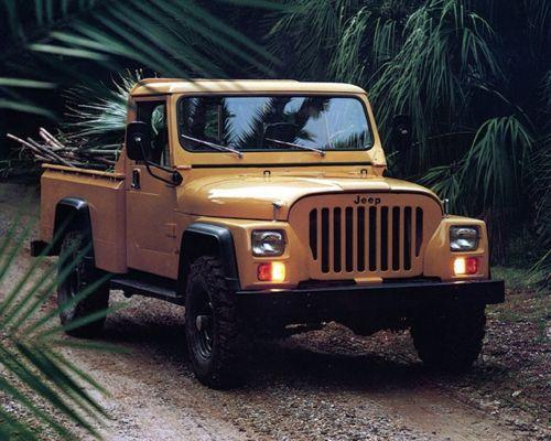 1981 Jeep Cj 10 Truck Factory Photo Ca7922 Willys Jeep Jeep