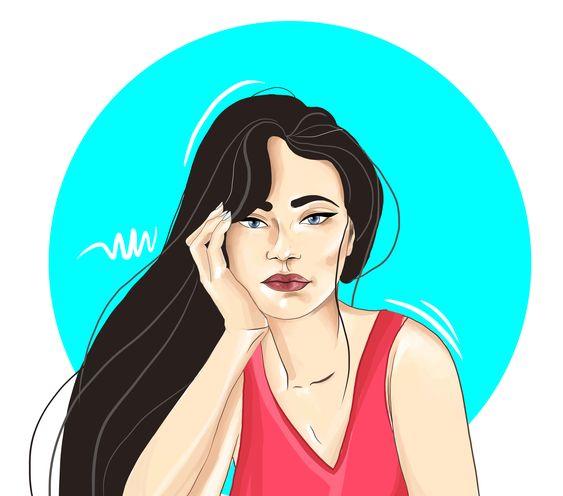 #women #illustration #characterdesign #girl