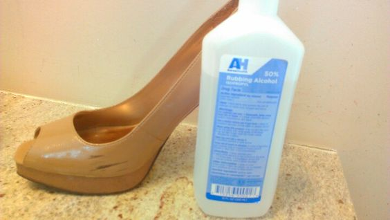 A must try....Still keep those favorite heels you love..rub with cotton ball and watch the marks disappear