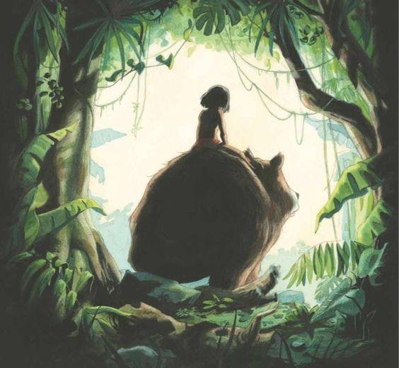Le Livre De La Jungle Expositions In Situ Galerie Robillard Art Et Illustration Le Livre De La Jungle Illustration