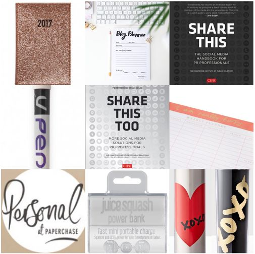 It's that time of year already. The great Christmas present hunt begins. Here are some ideas to take some of the pressure off. Show the PR person in your life that you've thought about what might help them get through their working week.