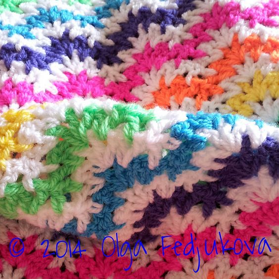Project Gallery for Express V-stitch ripple afghan (pattern) by Mara ...