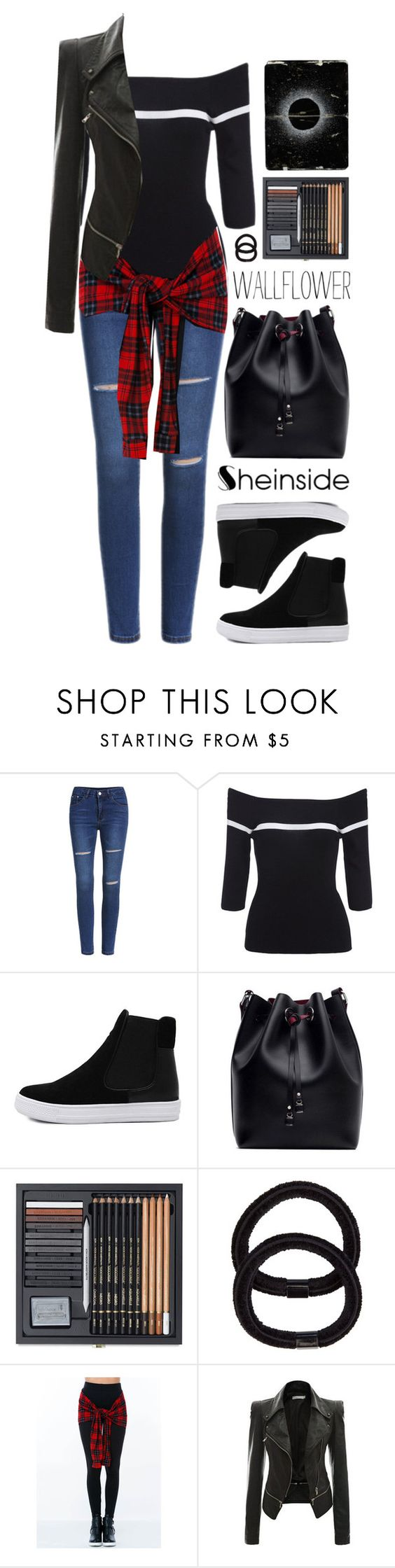 """""""SheIn 10"""" by scarlett-morwenna ❤ liked on Polyvore featuring Wallflower, John Lewis and vintage"""