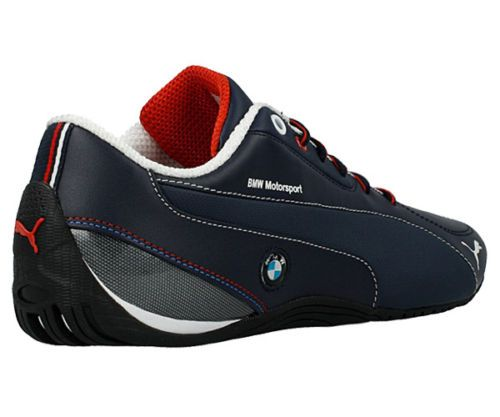 Puma Drift Cat 5 Bmw Nm Men S Shoes Motorsports Sneakers Team Blue Leather New Sneakers Puma Driver Shoes