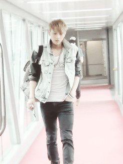 Tao on the catwalk